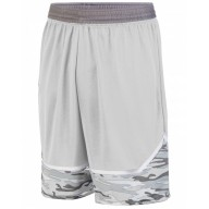 Augusta Drop Ship 1118 Shorts  - Youth Mod Camo Game Short