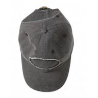 Authentic Pigment 1917 Caps - Pigment-Dyed Raw-Edge Patch Baseball Cap