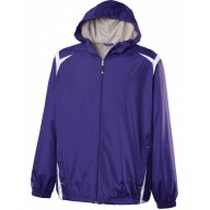 Holloway 229076 Jackets - Adult Polyester Full Zip Hooded Collision Jacket