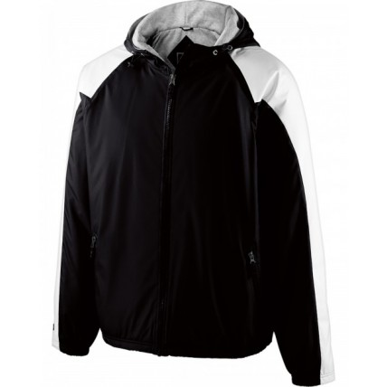 Holloway 229111 Jackets - Adult Polyester Full Zip Hooded Homefield Jacket