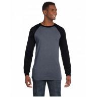 Bella + Canvas 3000C Shirts - Men's Jersey Long-Sleeve Baseball T-Shirt