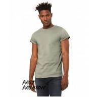 Bella + Canvas 3004C Tees - Fast Fashion Unisex Jersey Rolled Cuff T-Shirt