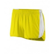 Augusta Drop Ship 337 Shorts - Ladies Wicking Poly/Span Short with Inserts