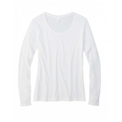 Anvil 399 Shirts - Ladies' Featherweight Long-Sleeve Scoop T-Shirt