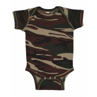 Code Five 4403 Bodysuits - Infant Camo Bodysuit