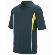Augusta Drop Ship 5023 Shirts - Adult Wicking Polyester Mesh Sport Shirt with Contrast Inserts