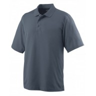 Augusta Drop Ship 5095 Polo Shirts - Adult Wicking Mesh Sport Shirt