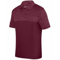 Augusta Drop Ship 5412 Polo Shirts - Adult Shadow Tonal Heather Polo