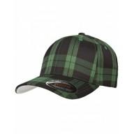Yupoong 6197 Caps - Flexfit Tartan Plaid Cap