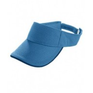 Augusta Drop Ship 6224 Visors - Youth Athletic Mesh Two-Color Visor