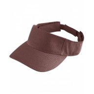 Augusta Drop Ship 6226 Visors - Youth Sport Twill Visor