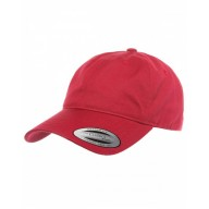 Yupoong 6245CM Caps - Adult Low-Profile Cotton Twill Dad Cap
