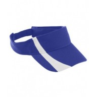 Augusta Drop Ship 6261 Visors - Youth Adjustable Wicking Mesh Two-Color Visor