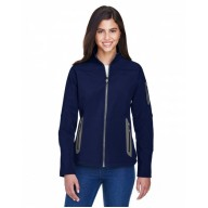 North End 78060 Jackets  - Ladies' Three-Layer Fleece Bonded Soft Shell Technical Jacket