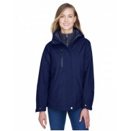 North End 78178 Jackets  - Ladies' Caprice 3-in-1 Jacket with Soft Shell Liner