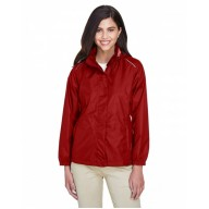 Core 365 78185 Jackets  - Ladies' Climate Seam-Sealed Lightweight Variegated Ripstop Jacket