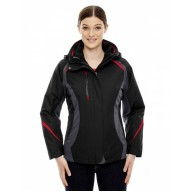 North End 78195 Jackets  - Ladies' Height 3-in-1 Jacket with Insulated Liner
