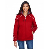 North End 78196 Jackets  - Ladies' Angle 3-in-1 Jacket with Bonded Fleece Liner