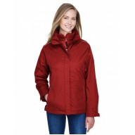 Core 365 78205 Jackets  - Ladies' Region 3-in-1 Jacket with Fleece Liner