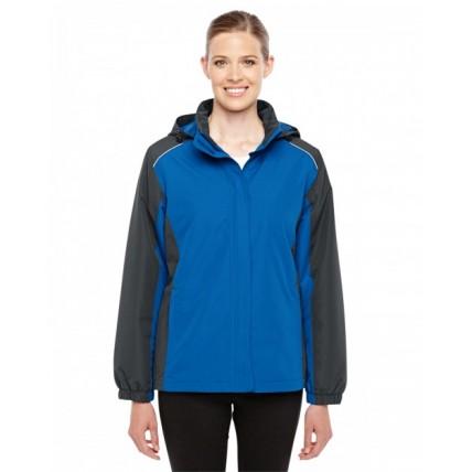 Core 365 78225 Jackets  - Ladies' Inspire Colorblock All-Season Jacket