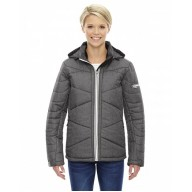 North End 78698 Jackets  - Ladies' Avant Tech Mélange Insulated Jacket with Heat Reflect Technology