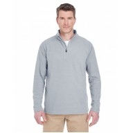 UltraClub 8180 Fleece Jackets  - Adult Cool & Dry Quarter-Zip Microfleece
