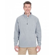 UltraClub 8185 Shirts - Men's Cool & Dry Full-Zip Microfleece