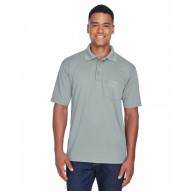 UltraClub 8210P Polo Shirts - Adult Cool & Dry Mesh Piqué Polo with Pocket
