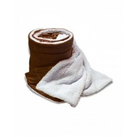 Alpine Fleece 8726 Blankets - Oversized Mink Sherpa