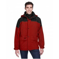 North End 88006 Jackets - Adult 3-in-1 Two-Tone Parka