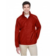 Core 365 88185 Jackets - Men's Climate Seam-Sealed Lightweight Variegated Ripstop Jacket
