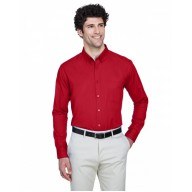Core 365 88193 Shirts - Men's Operate Long-Sleeve TwillShirt