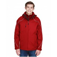 North End 88196 Jackets - Men's Angle 3-in-1 Jacket with Bonded Fleece Liner