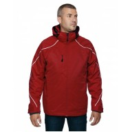 North End 88196T Jackets - Men's Tall Angle 3-in-1 Jacket with Bonded Fleece Liner