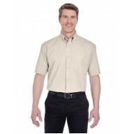 UltraClub 8977 Shirts - Adult Short-Sleeve Whisper Twill