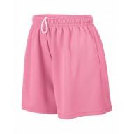 Augusta Drop Ship 961 Shorts - Girl's Wicking Mesh Short
