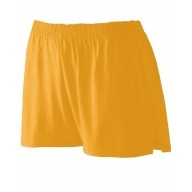 Augusta Drop Ship 988 Shorts - Girls' Trim Fit Jersey Short