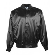 Augusta Drop Ship AG3600 Jackets - Adult Satin Baseball Jacket with Solid Trim