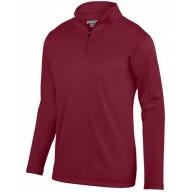 Augusta Sportswear AG5507 Fleece Jackets  - Adult Wicking Fleece Quarter-Zip Pullover