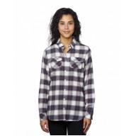 Burnside B5210 Shirts - Ladies' Plaid Boyfriend Flannel Shirt