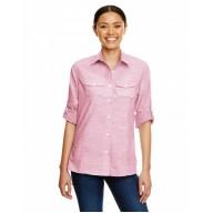 Burnside B5247 Woven Shirts  - Ladies Texture Woven Shirt