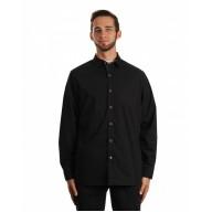 Burnside B8290 Woven Shirts  - Men's Peached Poplin Woven Shirt