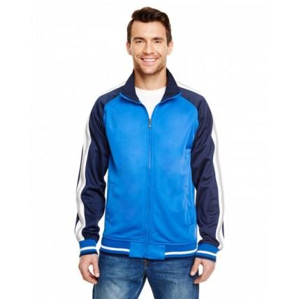 Burnside B8653 Jackets - Adult Varsity Track Jacket