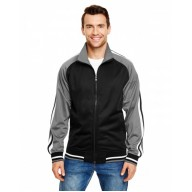 Burnside B8653 Jackets - Adult Varsity Track Jacket