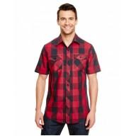 Burnside B9203 Woven Shirts  - Mens Buffalo Plaid Woven Shirt