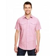 Burnside B9247 Woven Shirts  - Men's Textured Woven Shirt