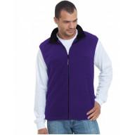 Bayside BA1120 Vests - Unisex Full-Zip Polar Fleece Vest