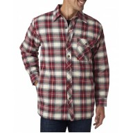 Backpacker BP7002 Jackets - Men's Flannel Shirt Jacket with Quilt Lining