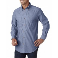 Backpacker BP7004T Woven Shirts  - Men's Tall Yarn-Dyed Chambray Woven