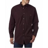 Backpacker BP7010T Woven Shirts  - Men's Tall Nailhead Long-Sleeve Woven Shirt